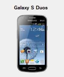 samsung galaxy s duo