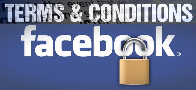 เงื่อนไขการใช้งาน Facebook