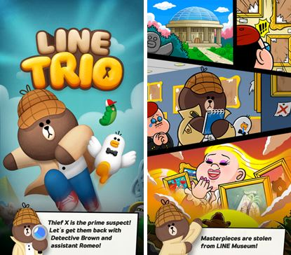line trio