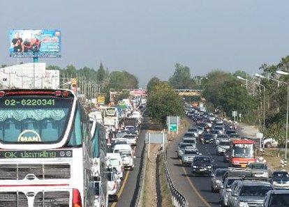 เลี่ยงรถติดเข้ากรุงเทพ