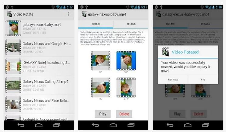 Video Rotate app 003