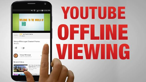 youtube offline viewing