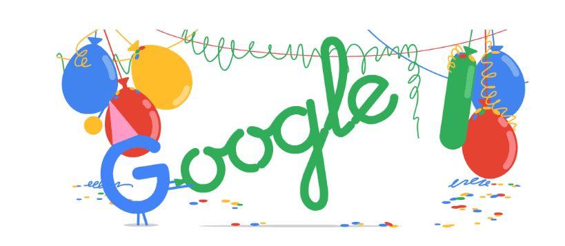 วันเกิดปีที่ 18 ของ Google
