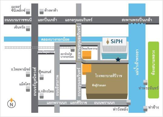 map-siriraj