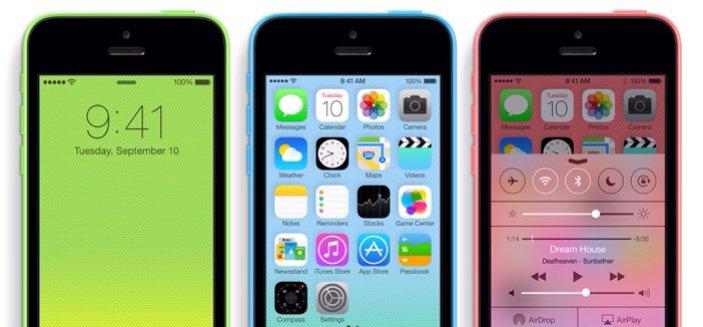 iPhone 5C 13,700 บาท
